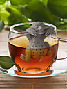 Slow BrewTea Infuser - Cute Sloth Hanging Loose Leaf Silicone Mug Cup Straineg