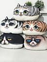 Almofada de sofa de travesseiro padrao de gato de 1pcs 3d impressao