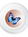 Portable  5V 2A Butterfly Wireless Charging Pad/Stand for All QI-Enabled Devices Samsung Galaxy S7  S7 Edge S6   S6 EdgeGoogle Nexus 4  5
