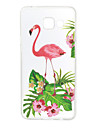 For Samsung Galaxy A3 (2017) A5 (2017) Case Cover Flowers Flamingo Pattern Painted High Penetration TPU Material Phone Case A3(2016) A5(2016)
