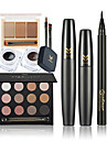 Fards a Paupieres Mascara Eyeliner Crayons a SourcilsPinceaux de Maquillage Sec Humide Yeux