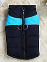 Chien Gilet de sauvetage Vetements pour Chien Respirable Decontracte / Quotidien Sportif Solide Orange Rouge Vert Bleu Rose Costume Pour