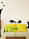 Animals Fashion Leisure Wall Stickers Plane Wall Stickers Decorative Wall Stickers, Paper Home Decoration Wall Decal Wall