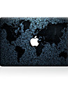 1 Pca. Resistente a Riscos Mapa De Plastico Transparente Adesivo Estampa ParaMacBook Pro 15\'\' with Retina MacBook Pro 15 \'\' MacBook Pro