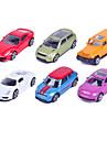 Playsets de vehicules Voitures de jouet Voiture de Course Voiture de Police Jouets Automatique Alliage de metal Metal Classique &