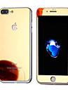 Protecteur d\'ecran pour Apple iPhone 7 Plus Verre Trempe 1 piece Ecran de Protection Avant & Arriere Miroir