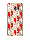Case For Samsung Galaxy S7 edge S7 Transparent Pattern Back Cover Other Soft TPU for S7 edge S7 S6 edge plus S6 edge S6 S5 S4