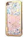 Для Покрытие Движущаяся жидкость Кейс для Задняя крышка Кейс для Сияние и блеск Мягкий TPU для AppleiPhone 7 Plus iPhone 7 iPhone 6s Plus