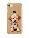 Coque Pour Apple iPhone 7 Plus iPhone 7 Transparente Motif Coque Chien Flexible TPU pour iPhone 7 Plus iPhone 7 iPhone 6s Plus iPhone 6s