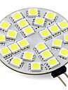 3W G4 Двухштырьковые LED лампы T 24 SMD 5050 250-300 lm Тёплый белый Холодный белый К V