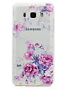 Coque Pour Samsung Galaxy J7 Prime J5 Prime Transparente Motif Coque Arriere Fleur Flexible TPU pour J7 Prime J5 (2016) J5 Prime J3