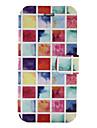 Кейс для Назначение SSamsung Galaxy J5 (2016) J3 (2016) Бумажник для карт со стендом Флип С узором Чехол Геометрический рисунок Твердый