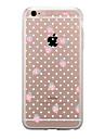 Para Transparente Estampada Capinha Capa Traseira Capinha Fruta Macia TPU para AppleiPhone 7 Plus iPhone 7 iPhone 6s Plus iPhone 6 Plus