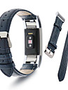 Watch Band for Fitbit Charge 2 Fitbit Sport Band Milanese Loop Leather Wrist Strap