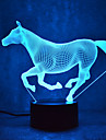 Cheval tactile gradation 3d led nuit lumiere 7colorful decoration atmosphere lampe nouveaute eclairage lumiere