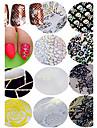 1pcs Adesivos para Manicure Artistica Autocolantes de Unhas 3D maquiagem Cosmeticos Designs para Manicure