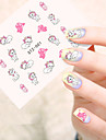 5pcs/set Water Transfer Sticker Fashion Daily High Quality