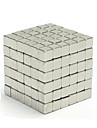 Magnet Toy Magic Cube Neodymium Magnet Stress Relievers 216pcs 5mm Magnetic Square Toy Adults\' Gift
