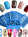 48pcs/set Kynsilakat / Nail Art DIY Tool Accessory Vesi Siirto Tarra / Kynsitarra Nail Art Design