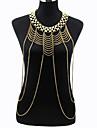 Women\'s Body Jewelry Body Chain Fashion Necklace Belly Chain Bohemian Statement jewelry Alloy For Party Special Occasion Beach Bikini Jewelry