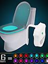 ywxlight® ip65 16 colori movimento attivato wc luce bagno notte facile pulizia