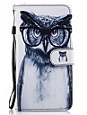 For Huawei P8 lite 2017 Mate9 Card Holder Wallet with Stand Flip Pattern Case Full Body Case Owl Hard PU Leather for Honor 5C 7 8 Y5 II Y6 II Y560
