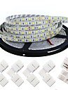 KWB Flexible LED Light Strips 300 LEDs Warm White White Cuttable Dimmable Self-adhesive Suitable for Vehicles Linkable DC 12V