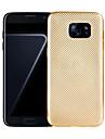 Для Чехлы панели Покрытие Задняя крышка Кейс для Один цвет Мягкий TPU для Samsung S8 S8 Plus S7 edge S7