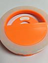 Lampe memorisee par telephone portable lampe a retardateur usb chargeur flash de nuit flash de lumiere batterie au lithium integree orange