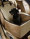 Кошка Собака Чехол для сидения автомобиля Животные Коврики и подушки Однотонный Компактность Двусторонний Дышащий Складной Цвет