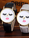 Femme Unique Creative Montre Montre Bracelet Montre Tendance Montre Decontractee Chinois Quartz Colore / Cuir Bande Etincelant