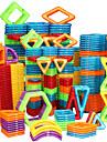 Magnetic Blocks Magnetic Tiles Building Blocks 128 pcs Car Robot Ferris Wheel compatible Legoing Gift Magnetic 3D Boys\' Girls\' Toy Gift / DIY