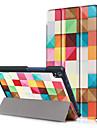 Кейс для Назначение Lenovo Чехол планшетный случаи Твердый Кожа PU для