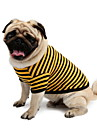 Dog Shirt / T-Shirt Blue Dog Clothes Summer Stripe