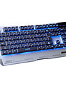 Sades light language ordinateur usb clavier de jeu avec retro-eclairage de 7 couleurs 104 touches pour lol dota support multi-langue