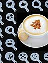 16pcs EPP PP Umweltfreundlich Halloween Multifunktion Fuer den taeglichen Einsatz Multifunktion Fuer fluessige Kreisfoermig Backform Backwerkzeuge