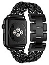 Pulseiras de Relogio para Apple Watch Series 3 / 2 / 1 Apple borboleta Buckle Aco Inoxidavel Tira de Pulso