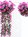 Artificial Flowers 1 Branch Pastoral Style Plants Wall Flower