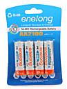 Enelong Ni-mh batterie rechargeable aa2100 mah1.2v aa peut etre utilise 1000 fois