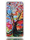 Pour huawei p9 lite p8 lite (2017) couverture de casse-tete colore arbre motif relief dijiao tpu materiel haut par le telephone cas p8