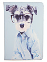 Case For Apple iPad Mini 4 iPad Mini 3/2/1 with Stand Flip Pattern Full Body Cases Dog Hard PU Leather for iPad Mini 4 iPad Mini 3/2/1