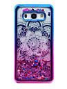 Case For Samsung Galaxy J5(2016) J3(2016) Plating Flowing Liquid Transparent Pattern Back Cover Mandala Glitter Shine Soft TPU for J5