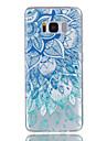 Capinha Para Samsung Galaxy S8 Plus S8 Estampada Capa Traseira Flor Macia TPU para S8 S8 Plus S7 edge S7 S6 S5