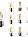 4W LED Filament Bulbs G45 4 COB 300 lm Warm White 3000-6500 K AC 220-240 V