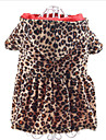 Dog Hoodie Dog Clothes Casual/Daily Fashion Leopard