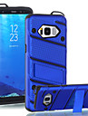 Para samsung galaxy s8 plus s7 edge case cover the with stand plastic with tpu frame