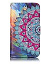 Case For Huawei P9 Lite Huawei Huawei P8 Lite Card Holder Wallet with Stand Flip Pattern Embossed Full Body Cases Mandala Hard PU Leather