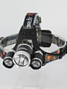Φακοί Κεφαλιού LED Cree® T6 Εκτοξευτές 3000 lm 3 τρόπος φωτισμού Ανθεκτικό στα Χτυπήματα Ένθετο Επίθεσης Έκτακτη Ανάγκη Κατασκήνωση / Πεζοπορία / Εξερεύνηση Σπηλαίων Καθημερινή Χρήση Ποδηλασία