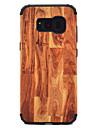 Coque Pour Samsung Galaxy S8 Plus S8 Antichoc Motif Coque Apparence Bois Dur PC pour S8 Plus S8 S7 edge S7
