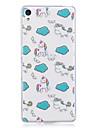 Caso para sony xperia m2 xa capa capa padrao unicornio pintado alta penetracao material tpu imd processo maleta caso do telefone para sony